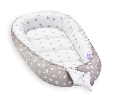 Babynest - cocoon Star Grey